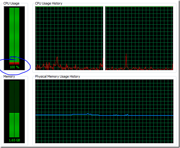 My Note on Solutions : Troubleshooting High 100% CPU utilization