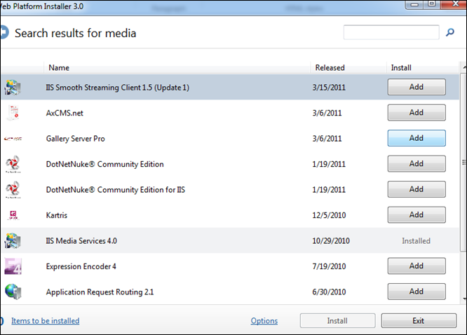 My Note on Solutions : How to :Test IIS Media service Smooth