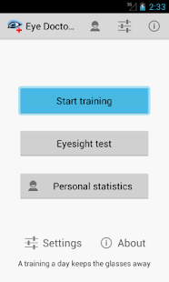 Eye Doctor Trainer - vision up- screenshot thumbnail