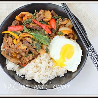 Korean Style Beef Bowl