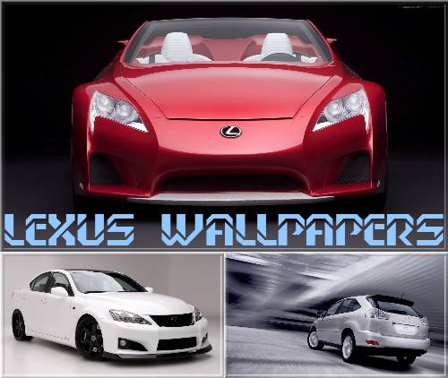 Lexus Car Wallpaper: Paloreadro: Lexus Wallpapers