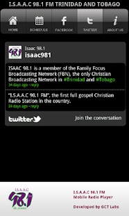ISAAC 98.1 FM Radio- screenshot thumbnail