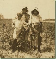 1909年的波兰家族的照片