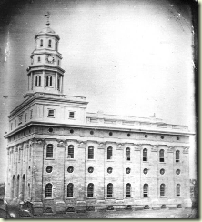 Nauvoo寺的Daguerreotype