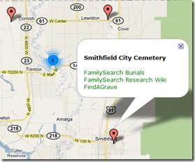 气球与墓地信息