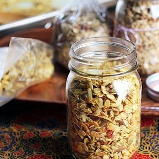 Curry Coconut Savory Granola.
