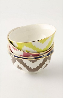 ikat bowls from anthro