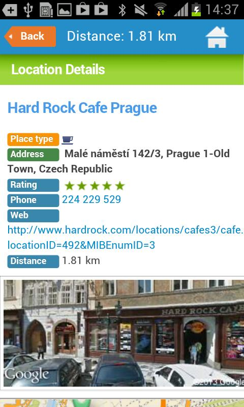 Prague Guide Hotel Map Weather - screenshot