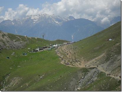 अमरनाथ यात्रा- पिस्सू घाटी से शेषनाग