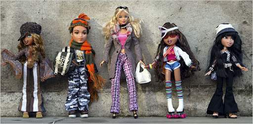 The Barbie destroyed the Bratz