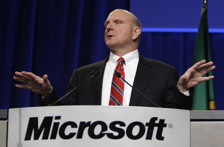 Ballmer doesn't mention Windows Phone 7 sales
