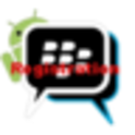 BBM Android registration icon