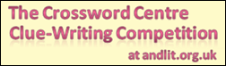 The Crossword Centre Clue-Writing Competition