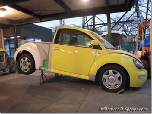 New Aston Martin >> JuzPictures: Volkswagen New Beetle Pick Up Truck Pictures