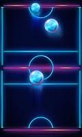 Screenshot of Air Hockey Glow 2