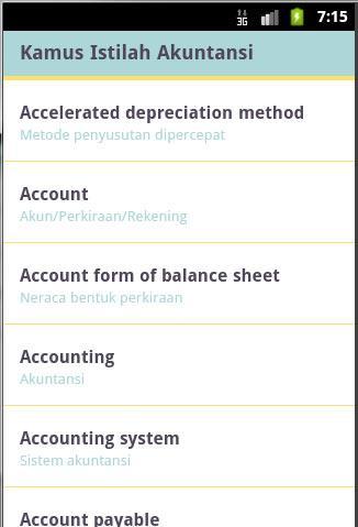 【免費財經App】Kamus Akuntansi-APP點子