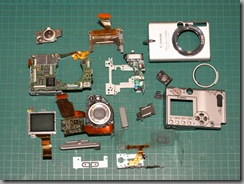 Canon S500 Teardown