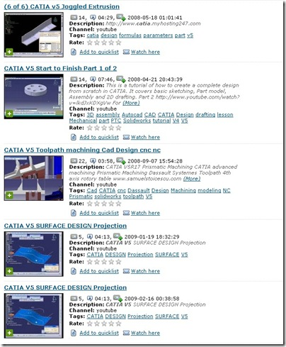 CATIA Video Tutorials Ready To Download   | CAD/CAM/CAE