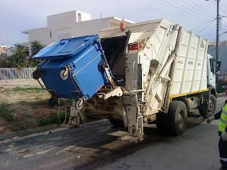 Αποτέλεσμα εικόνας για απορριμματοφόρα του δήμου να βγουν απο το ΧΥΤΑ για την αποκομιδή των σκουπιδιών.