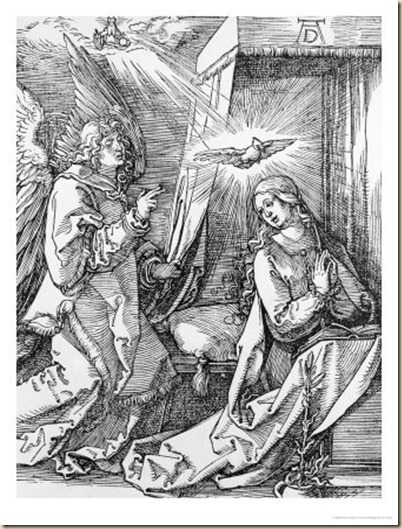 albrecht-dürer-the-annunciation-from-the-small-passion-series-1511
