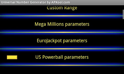 Universal Number Generator Pro - screenshot thumbnail