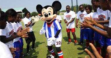 Disney e Zico Soccer Clinic