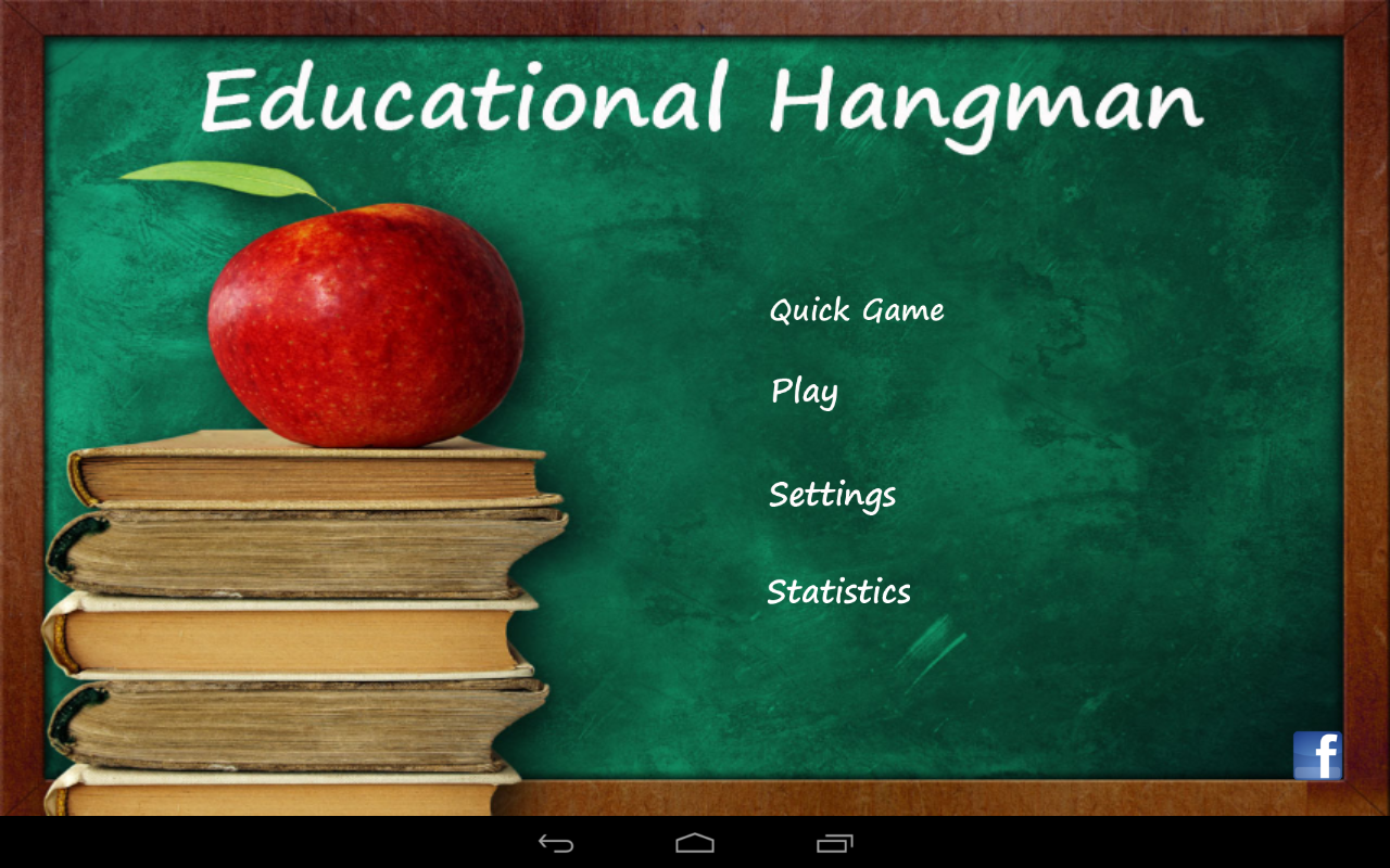 Educational Hangman in English- screenshot