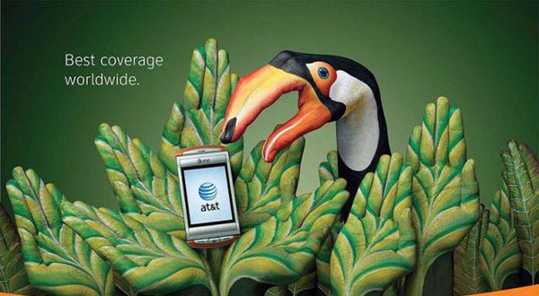 23 creative ads by AT&T [hand-modelling advertisements] - Tucan, Amazon