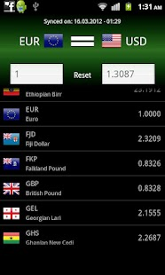 Currency | A powerful yet simple currency converter