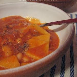 Sagne e Fagioli (Pasta and Beans)