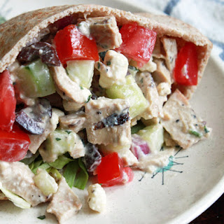 IT'S ALL GREEK CHICKEN SALAD to ME Recipe