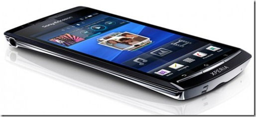 xperia arc design