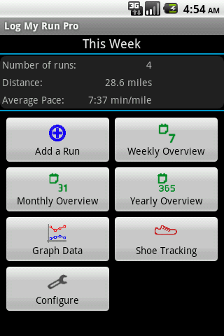 Log My Run Pro- screenshot
