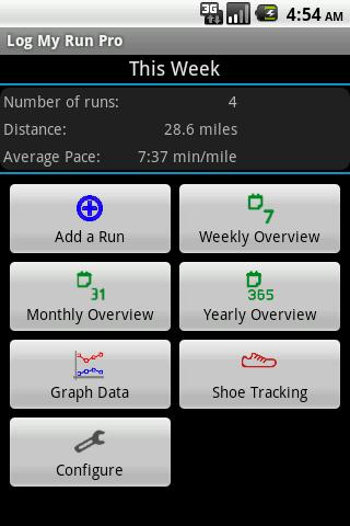 Log My Run Pro - screenshot