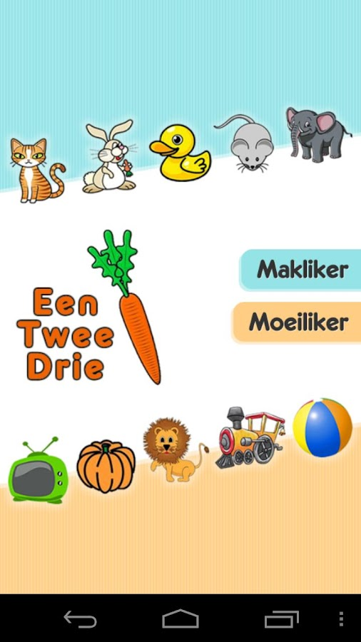 Afrikaans Toddler Counting - screenshot
