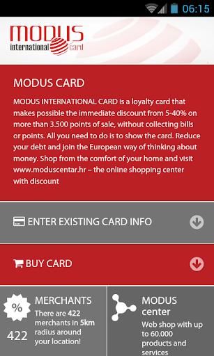 ModusCard