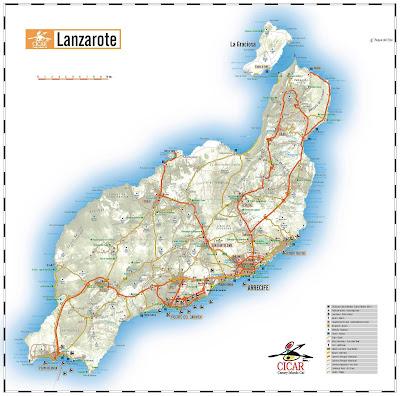 Mis Rutas De Senderismo Flaca Y Btt Lanzarote A Través De 43 Panorámicas