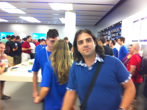Apple store y yo
