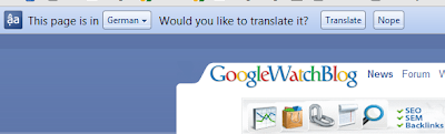Chrome Translate