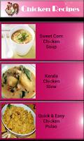 Screenshot of Chicken Recipe - Food Recipe