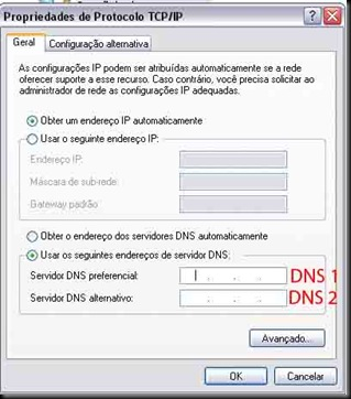alterar dns windows 03