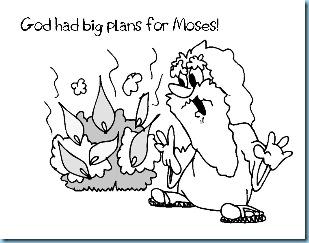 Raising Rock Stars Moses the Burning Bush 1111