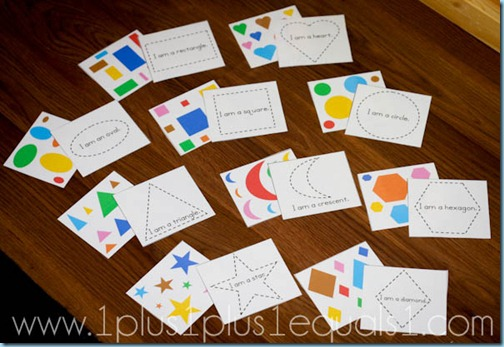 shapes printable