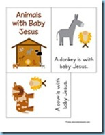 Nativity Preschool Pack Easy Reader