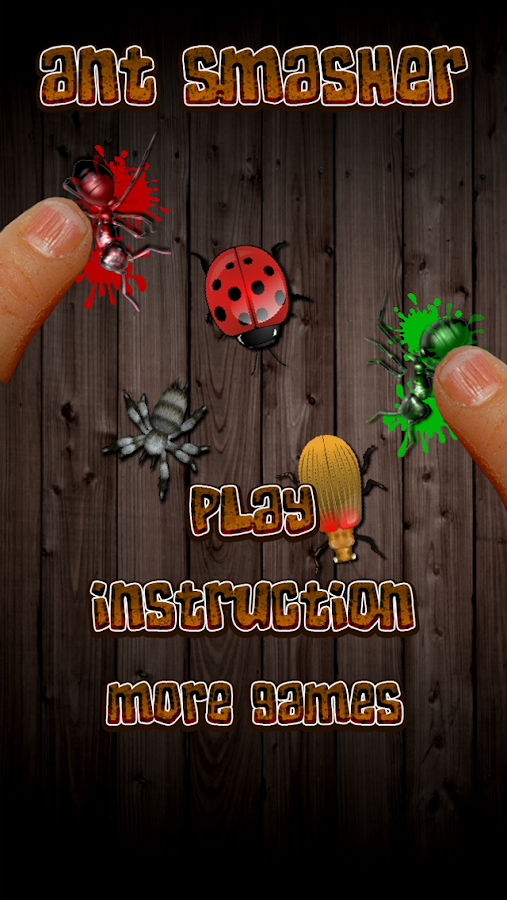 Ant Smasher Free - screenshot