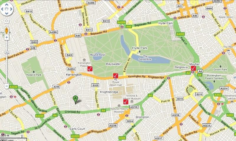 Ruta por Londres día 1 (Mañana)