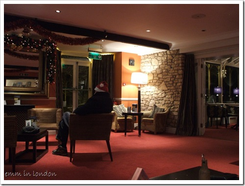 Hawkwell House - the lounge