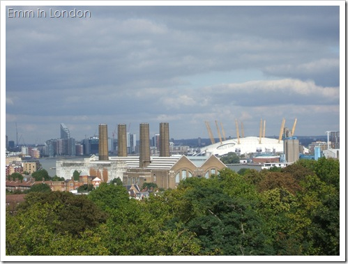 The Old Greenwich Power Station with The O2 in the background