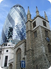 St Mary Axe. and St Andrew Undershaft