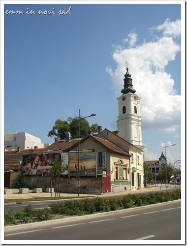 Uspenjska crkva Novi Sad (Serbian Orthodox Church of Dormition of Holy Theotokos)